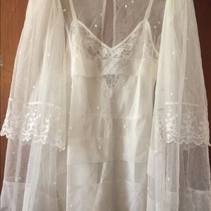 Alice McCall white lace blouse